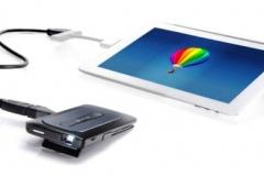 Aiptek MobileCinema A50P Mini Beamer Verbinden