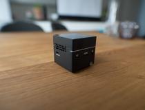 Anschlüsse des ExquizOn S6 Mini Würfel Beamer