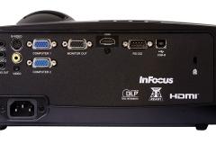 Infocus IN118HDA Full-HD Beamer Anschlüsse