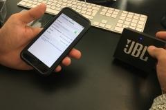 JBL GO Portable Bluetooth Lautsprecher im test mit iphone koppeln