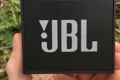 JBL GO Portable Bluetooth Lautsprecher test von vorne