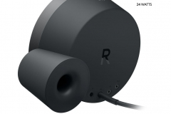 Logitech MX Sound PC Lautsprecher Rückseite
