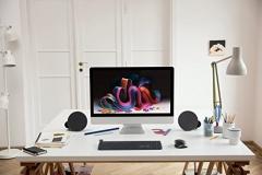 Logitech MX Sound PC Lautsprecher Schreibtisch