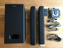 MEDION LIFE E64126 2.1 Soundbar Lieferumfang
