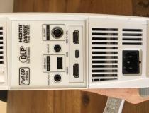 Optoma GT1080 Darbee Anschlüsse Rückseite