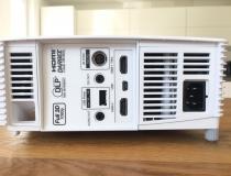 Optoma GT1080 Darbee Full HD Beamer Anschlüsse