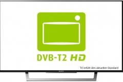 Sony KDL-43WD755 DVB-T2 HD Standard