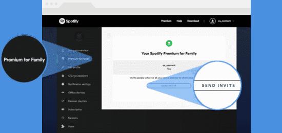 Spotify Family - So laden Sie weitere Nutzer ein!