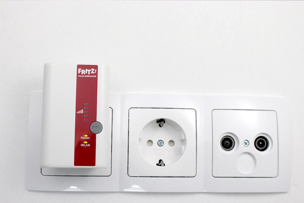 1avm fritzwlan repeater 310 in der steckdose aus hifi. Black Bedroom Furniture Sets. Home Design Ideas