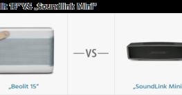 Beolit 15 VS Soundlink Mini