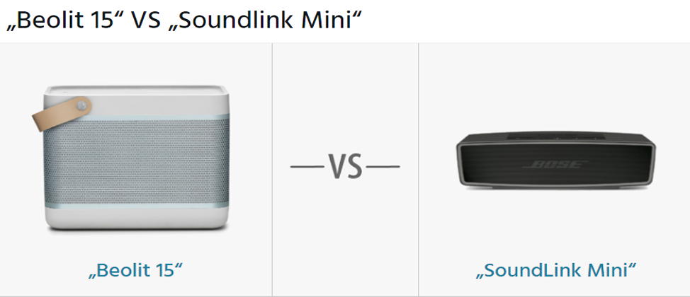 beolit 15 vs soundlink mini der vergleich hifi. Black Bedroom Furniture Sets. Home Design Ideas