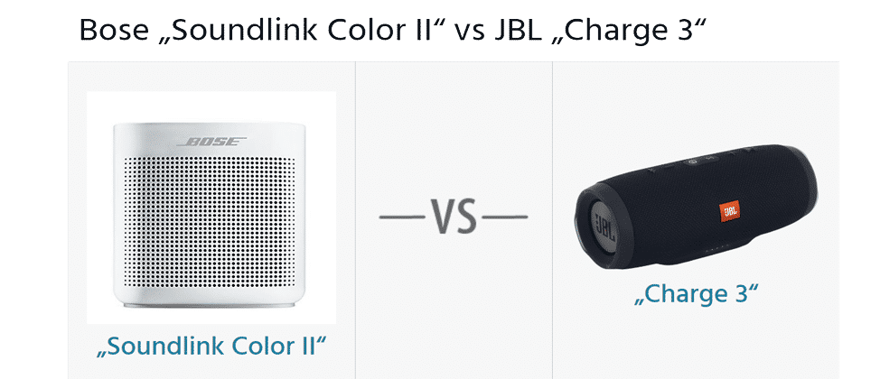 bose soundlink color ii vs jbl charge 3 hifi. Black Bedroom Furniture Sets. Home Design Ideas