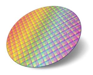 Projektions-Chip mit vielen kleinen Spiegeln