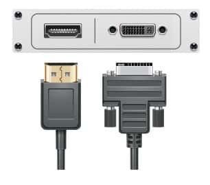 HDMI-DVI-Anschluss
