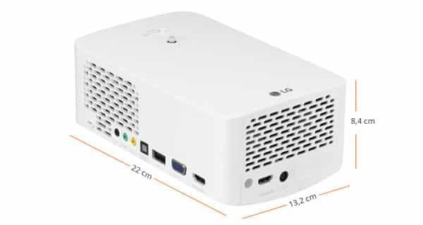 LG PF1500 Mini Beamer