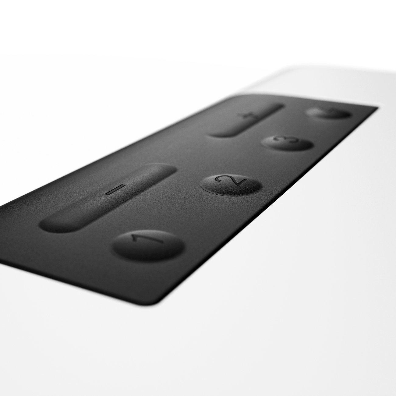 raumfeld one s wlan multiroom lautsprecher tasten hifi. Black Bedroom Furniture Sets. Home Design Ideas