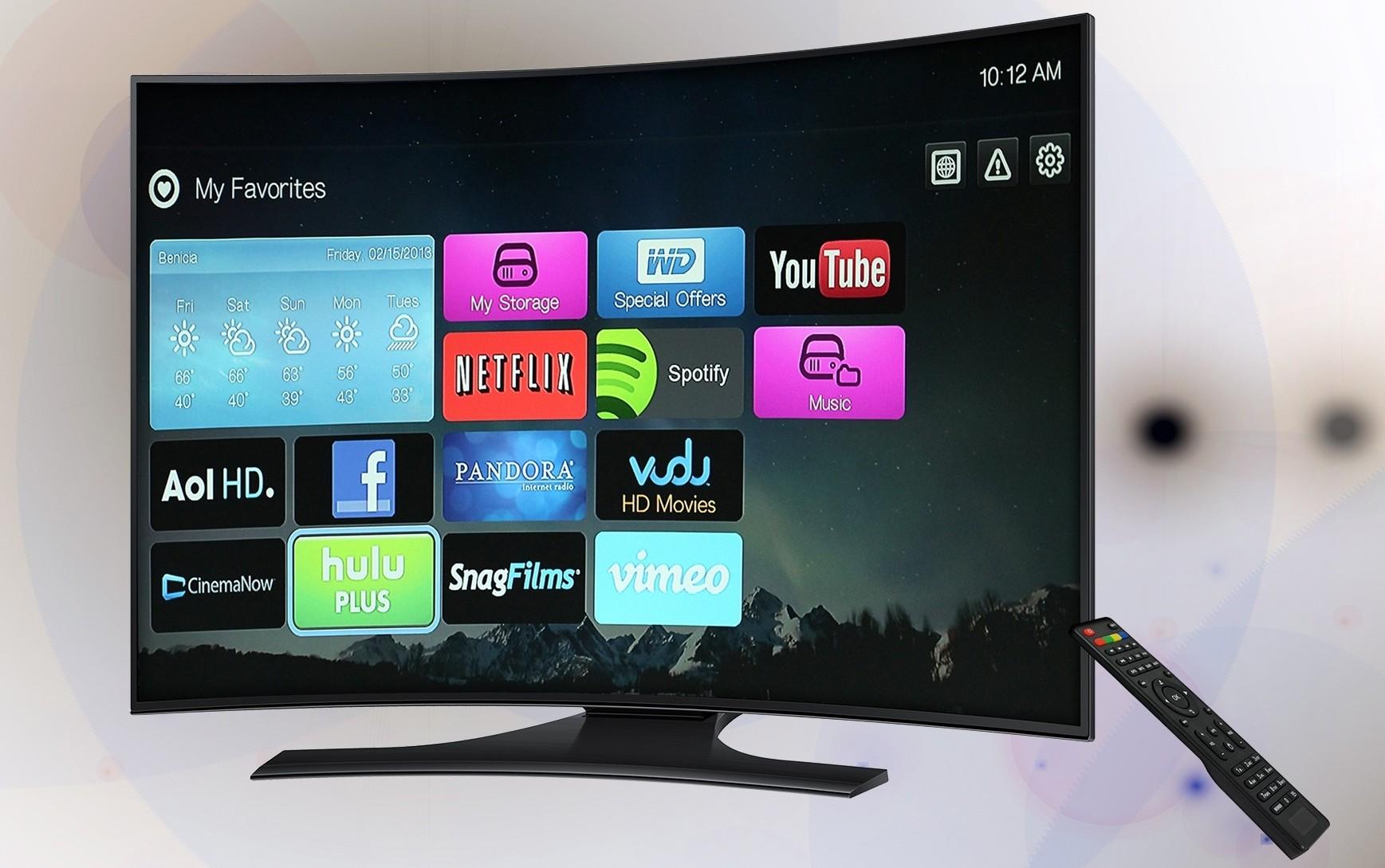 Was ist ein Curved TV eigentlich