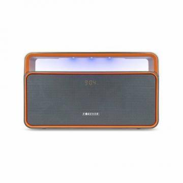 Bluetooth Lautsprecher 4.1 10W GreyIOrange 2000mAh Akku Wireless Speaker LED Licht USB MP3 AUX