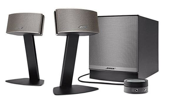 bose companion 50 pc lautsprecher hifi. Black Bedroom Furniture Sets. Home Design Ideas