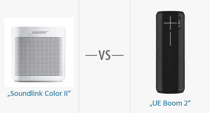 bose soundlink color ii vs ue boom 2 hifi. Black Bedroom Furniture Sets. Home Design Ideas