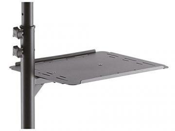 DRALL INSTRUMENTS Rollbarer Projektortisch höhenverstellbar für Beamer Overhead Projektor mit Ablage für Laptop Notebook Mediaplayer Spielekonsole Rack Modell: LB9 - 5