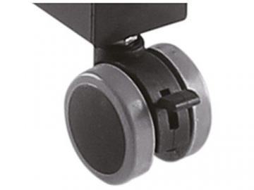 DRALL INSTRUMENTS Rollbarer Projektortisch höhenverstellbar für Beamer Overhead Projektor mit Ablage für Laptop Notebook Mediaplayer Spielekonsole Rack Modell: LB9 - 7