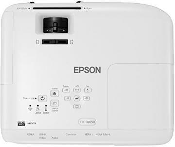 Epson EH-TW650 3LCD-Projektor-2