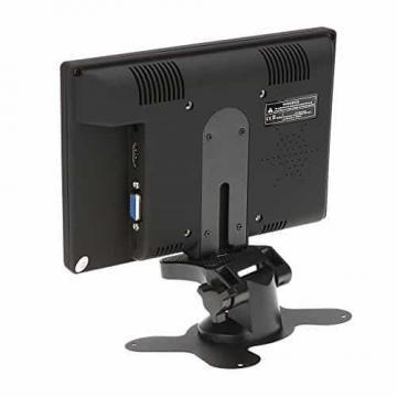 KKmoon 7 zoll Farbmonitor LED HD PC / AV HDMI Monitor VGA Eingang Empfänger mit Kopfhörerbuchse PAL / NTSC Video Displayer für Überwachung Auto Luftaufnahme - 5