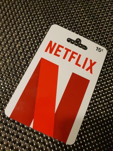 Netflix Gutscheinkarte 15€