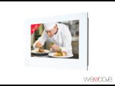 WEMOOVE WM-WFKTV220HEVC,  Kücheneinbau-TV, Weiß